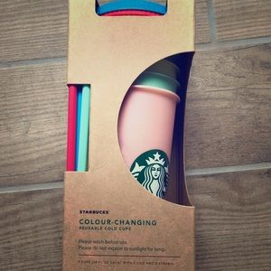 Starbucks Color Changing Cup Set
